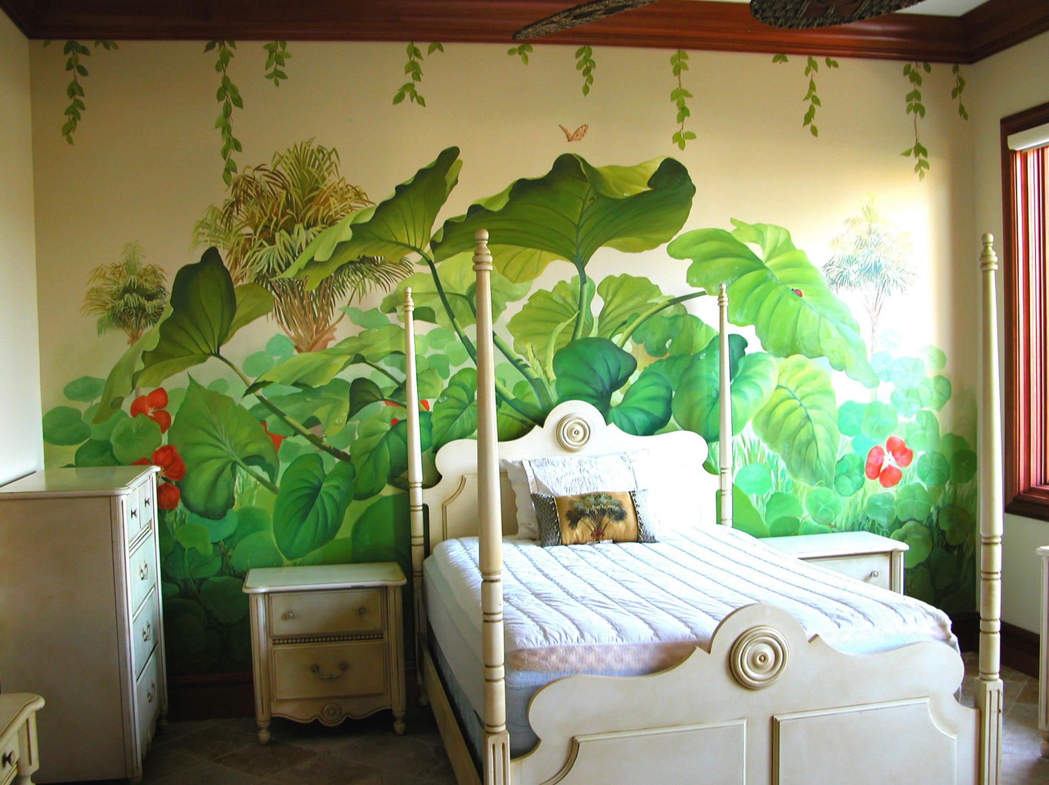 South Florida Mural Artist Georgeta Fondos. Hand Painted Murals. Custom  Murals. South