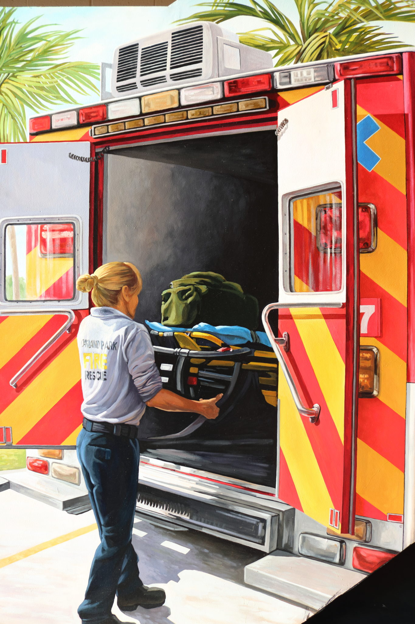 Exceptional Marvelous Fire Station Wall Mural · Ordinary Fire Station Wall Mural Part 20
